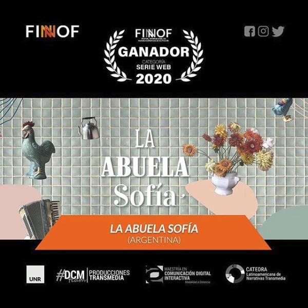 Ganador Serie Web - La abuela Sofia